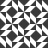 Seamless abstract geometric pattern. Seamless abstract geometric decorative background with diamonds Royalty Free Stock Images