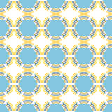 Seamless abstract geometric pattern. Decorative background. Vector illustration Royalty Free Stock Photo