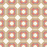 Seamless abstract geometric pattern. Decorative background. Vector illustration Royalty Free Stock Image