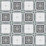 Seamless abstract geometric pattern with different squares in neutral colors.  stock illustration