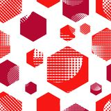 Seamless abstract geometric pattern. Drops texture. Mosaic texture. Can be used for wallpaper, linoleum, textile, in. Seamless abstract geometric pattern. Drops Royalty Free Illustration