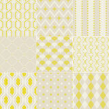 Seamless abstract geometric pattern Royalty Free Stock Photo