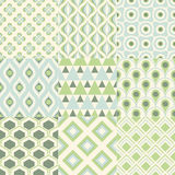 Seamless abstract geometric pattern Stock Image