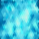 Seamless abstract geometric pattern with rhombus Royalty Free Stock Image