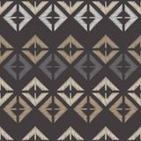 Seamless abstract geometric pattern. The texture of rhombus. Brushwork. Hand hatching. Scribble texture. Textile rapport Royalty Free Stock Photography