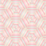 Seamless abstract geometric patterns. Hexagon Royalty Free Stock Images