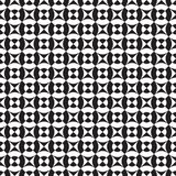 Seamless abstract geometric square and circle intersection pattern. Background royalty free illustration