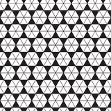 Seamless abstract geometric triangle hexagon form facet pattern. Triangle texture background. Seamless abstract geometric triangle hexagon form facet pattern royalty free illustration