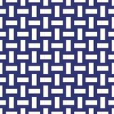 Seamless abstract geometric weave pattern background. Wallpaper stock illustration