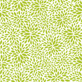 Seamless abstract green leaf pattern, foliage vector Stock Images