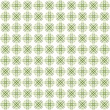 Seamless abstract green texture fractal patterns. On white background Royalty Free Stock Images