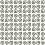 Seamless abstract green texture fractal patterns. On white background Royalty Free Stock Photography