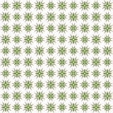 Seamless abstract green texture fractal patterns. On white background Stock Photo