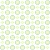 Seamless abstract green texture fractal patterns. On white background Stock Photos