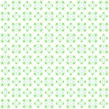Seamless abstract green texture fractal patterns. On white background Stock Photography