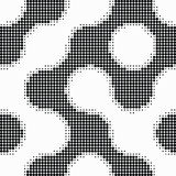 Seamless  abstract halftone dot  Royalty Free Stock Photography