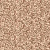 Seamless abstract hand-drawn curly pattern Royalty Free Stock Image