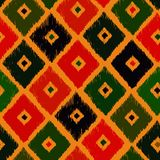 Seamless abstract hand-drawn ethnic pattern, Royalty Free Stock Image