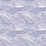 Seamless abstract hand-drawn pattern Royalty Free Stock Photography