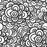 Seamless abstract hand-drawn pattern. Royalty Free Stock Photography