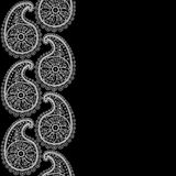 Seamless Abstract Hand-drawn Pattern, Floral Lace Royalty Free Stock Images