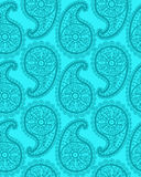 Seamless abstract hand-drawn pattern, floral lace Stock Photography