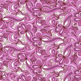 Seamless abstract hand drawn pattern stock illustration