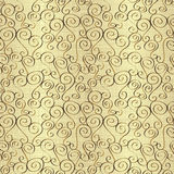 Seamless abstract hand-drawn pattern Royalty Free Stock Photo