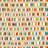 Seamless abstract hand drawn pattern Stock Photography