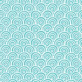 Seamless abstract hand drawn pattern, vector Stock Image