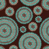 Seamless abstract hand drawn pattern, vector Royalty Free Stock Photos