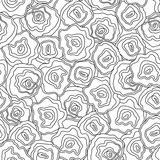 Seamless abstract hand drawn pattern, vector Stock Images