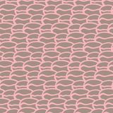 Seamless abstract hand drawn pattern, vector Royalty Free Stock Photography