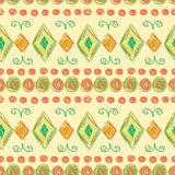Seamless abstract hand drawn pattern Stock Photos