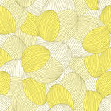 Seamless abstract hand-drawn pattern Stock Images
