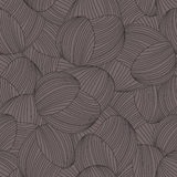 Seamless abstract hand-drawn pattern Royalty Free Stock Photos