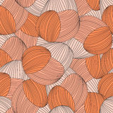 Seamless abstract hand-drawn pattern Royalty Free Stock Image