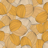 Seamless abstract hand-drawn pattern Stock Photo