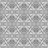 Seamless Abstract Hand Drawn Vector Pattern Royalty Free Stock Photo