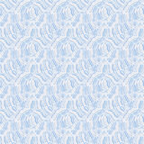 Seamless abstract hand-drawn waves pattern, wavy background. Royalty Free Stock Photo
