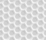 Seamless abstract honeycomb mesh  background - hexagons Stock Photography