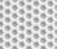 Seamless abstract honeycomb mesh  background - hexagons. Stock Photo