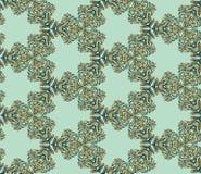 Seamless abstract kaleidoscope pattern Royalty Free Stock Photos
