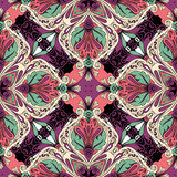 Seamless Abstract Kaleidoscope Pattern (Vector) Royalty Free Stock Photography