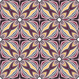 Seamless Abstract Kaleidoscope Pattern (Vector) Royalty Free Stock Photo
