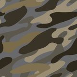 Seamless abstract khaki color pattern Stock Image