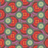 Seamless abstract mandala multicolor pattern. Repeating vintage background Royalty Free Illustration