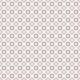 Seamless abstract maroon texture fractal patterns. On white background Stock Photography