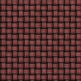 Seamless abstract marsala knitted burlap texture Royalty Free Stock Image