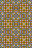 Seamless abstract medieval  pattern Royalty Free Stock Photos